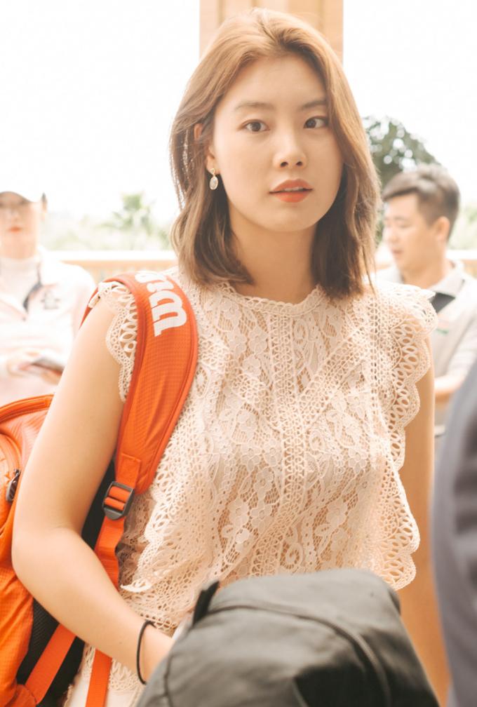 <p> Nữ diễn viên Kang So Yeon.</p>