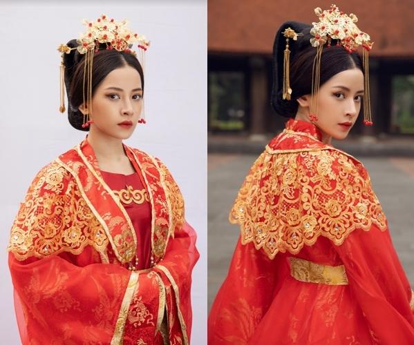 Trang phục cổ trang cầu kỳtrong MV Anh ơi ở lại của Chi Pu
