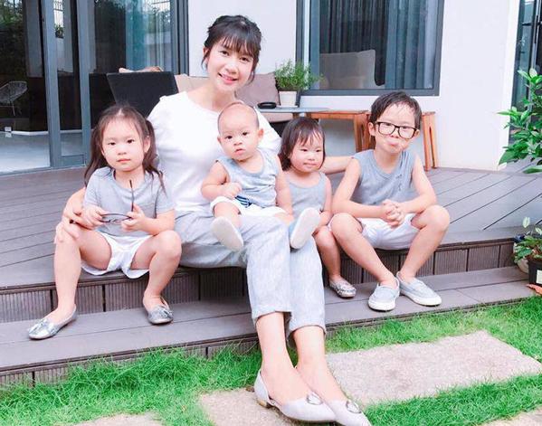 Những người đẹp Việt vừa sinh con ít tháng lại mang bầu - 3