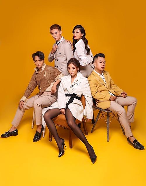 Đội hình team Văn Mai Hương tại Trời sinh một cặp 2019.