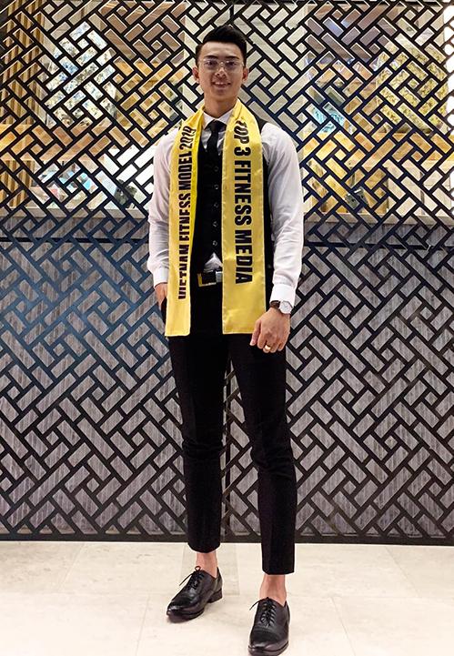 Vẻ nam tính của đại diện Việt Nam tại Man of The World 2019 - 8