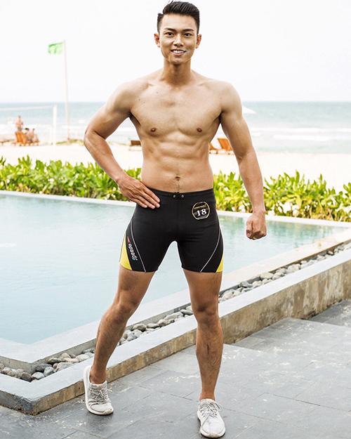 Vẻ nam tính của đại diện Việt Nam tại Man of The World 2019 - 2
