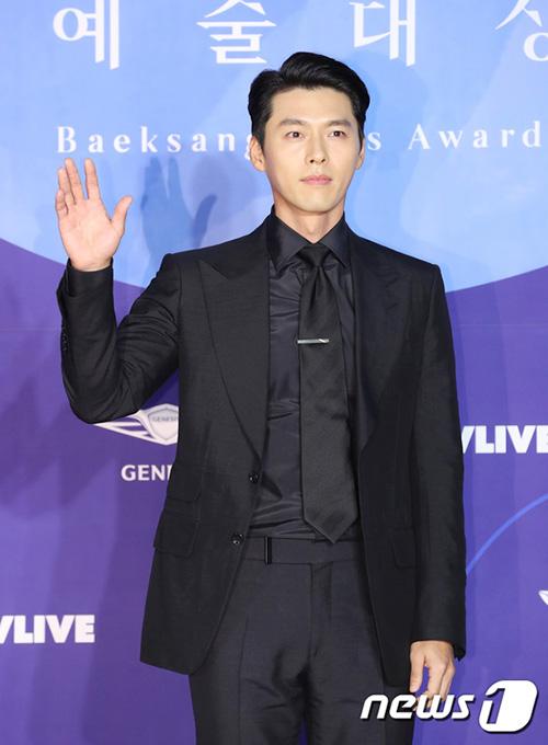 Sự xuất hiện của Hyun Bin khiến không khí lễ trao giải thêm nóng.