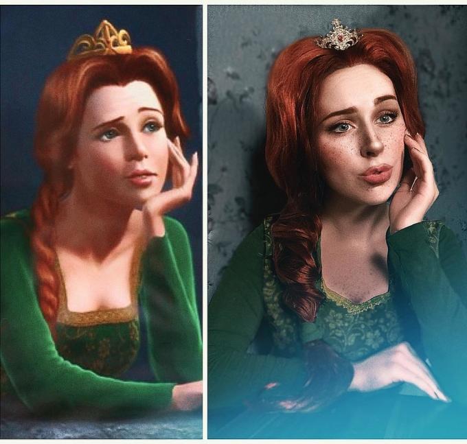 """<p> Vợ của gã chằn tinh, công chúa Fiona trong """"Chàng Shrek tốt bụng"""".</p>"""