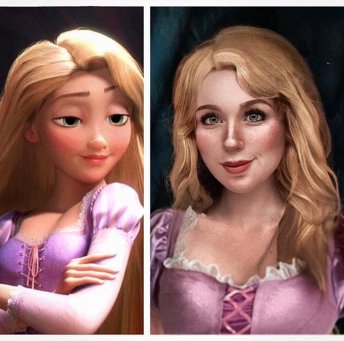 """<p> Công chúa tóc mây phiên bản Jules phần nào """"dịu dàng"""" hơn công chúa Rapunzel.</p>"""