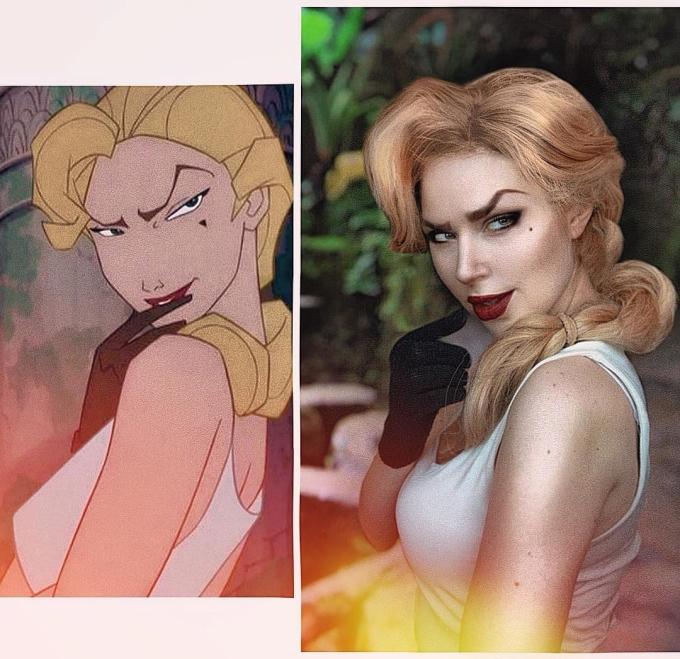 """<p> Jules Gudkova (21 tuổi), nổi tiếng trên mạng xã hội với những màn hóa trang ảo diệu về các nhân vật hoạt hình. Qua bàn tay """"phù thủy"""" của Jules, mọi nhân vật hoạt hình đều trở nên sống động. Người xem như được thấy tuổi thơ của mình ngoài đời thực.</p> <p> Lý do cô nàng thường xuyên cosplay bởi có một tình yêu to lớn với phim hoạt hình. Hơn nữa, nghề nghiệp chính của Jules là chuyên gia trang điểm nên rất thuận lợi cho sở thích của cô nàng. Với khả năng hóa trang ảo diệu của mình, cô nàng cosplayer 21 tuổi """"bỏ túi"""" gần 90 nghìn người theo dõi trang cá nhân.</p>"""