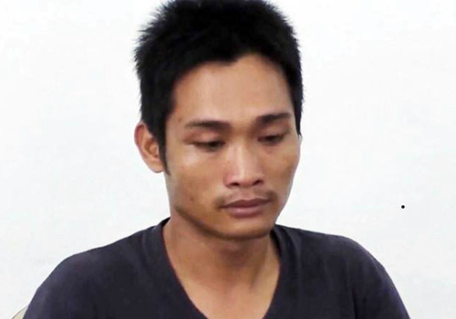 Đối tượng Bùi Văn Hời, nghi phạm giết con đẻ phi tang xác xuống sông Hàn, Đà Nẵng. Ảnh: Công an cung cấp.
