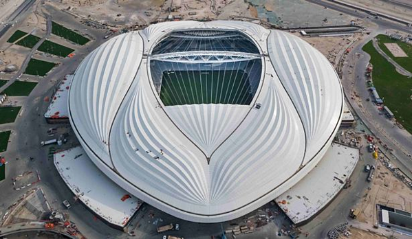 Sân vận động được xây dựng cho World Cup 2022 được so sánh với bộ phận sinh dục phụ nữ. Ảnh: Supreme Committee for Delivery & Legacy