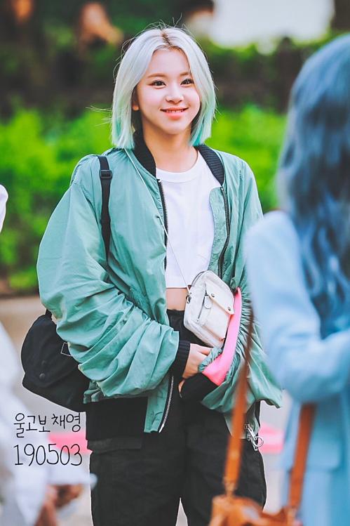 Em út Chae Young luôn nở nụ cười mọi lúc mọi nơi.