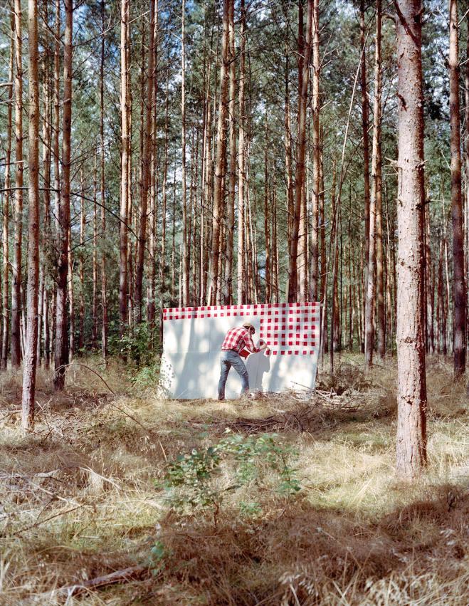 <p> Bức hình thực hiện ở Bridlington, East Yorkshire - nơi danh họa David Hockney vẽ bức <em>Cameron Woldgate Woods.</em></p>