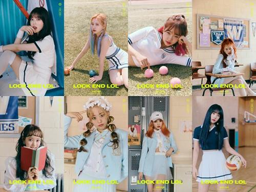 Weki Meki tung ảnh teaser cá nhân cho màn comeback mới, ca khúc mới của nhóm có tến LOCK END LOL theo phong cách năng động, khỏe khoắn.