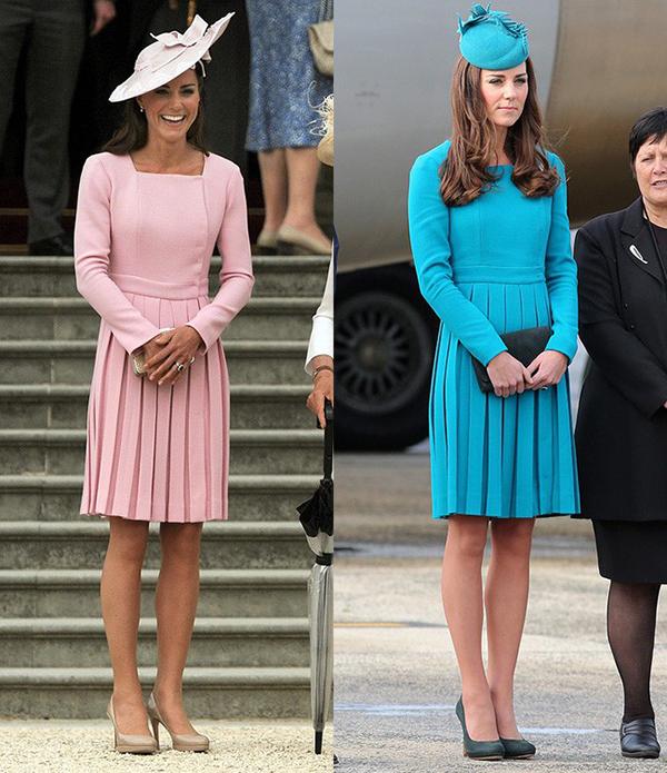 Không dễ để tìm ra một biểu tượng thời trang thứ hai có sở thích ăn mặc đặc biệt như Kate Middleton.