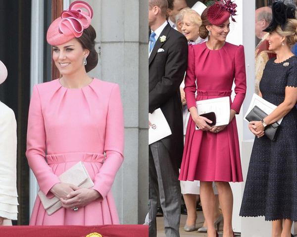 Những thiết kế này thường có mức giá không rẻ, đôi khi là đồ thiết kế riêng. Vì thế, Kate có thể mua một lần, sau đó gìn giữ cẩn thận và nhiều năm sau lấy ra mặc lại vẫn đẹp.