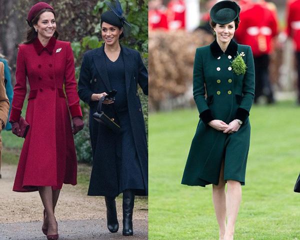 Việc lựa chọn một mẫu mã yêu thích rồi sắm một lúc nhiều màu sắc khác nhau là thói quen ăn mặc đặc biệt của Công nương nước Anh. Trước đó, cô cũng nhiều lần cho thấy độ chịu chơi khi sắm một lúc nhiều bộ váy áo hàng hiệu chỉ khác màu.