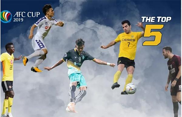 To 5 chân sút ấn tượng do Fox Sports Asia bầu chọn.