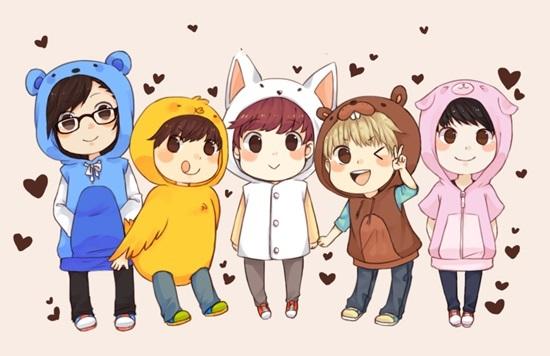 Fan cứng đoán nhóm nhạc Kpop qua hình chibi (4)