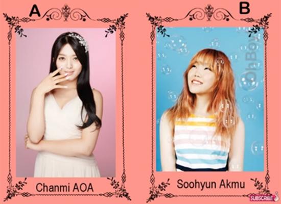 So sánh tuổi giữa các idol Hàn - 1