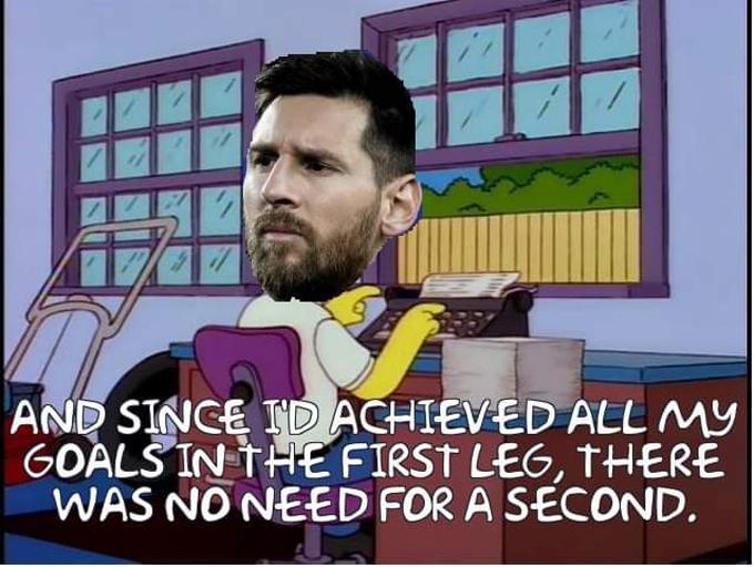"""<p> Tâm trạng của Messi lúc này, trái ngược với bức ảnh <a href=""""https://ione.vnexpress.net/tin-tuc/nhip-song/hong/buc-anh-nu-cuoi-messi-thong-tri-mang-xa-hoi-3917354.html"""">""""nụ cười Messi""""</a> nổi như cồn khắp mạng xã hội ở lượt đi.</p>"""