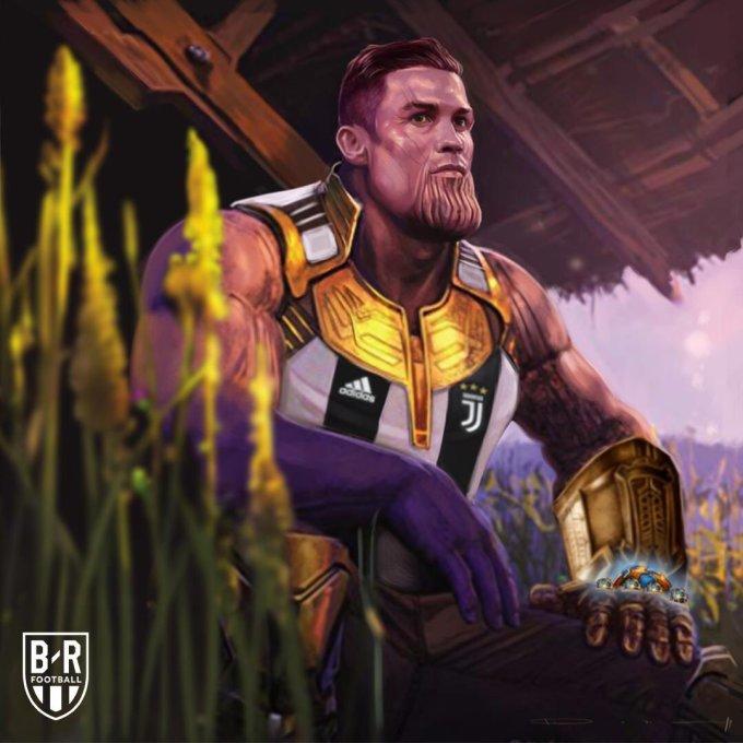 <p> Messi bị loại, mùa giải năm nay này một lần nữa thuộc về Ronaldo.</p>