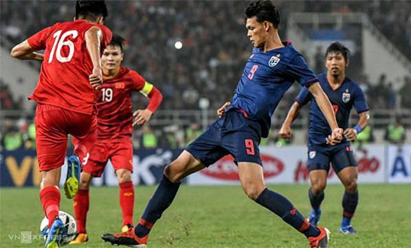 U23 Thái Lan thua đậm Việt Nam 0-4 ở vòng loại giải U23 châu Á.