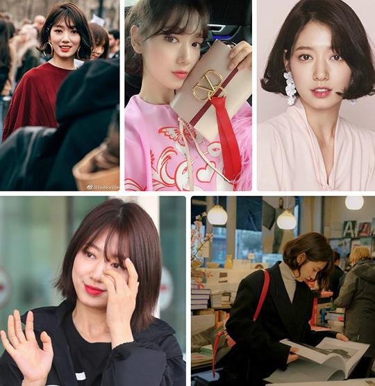Những tạo hình đẹp lung linh của Park Shin Hye khi cắt tóc ngắn.