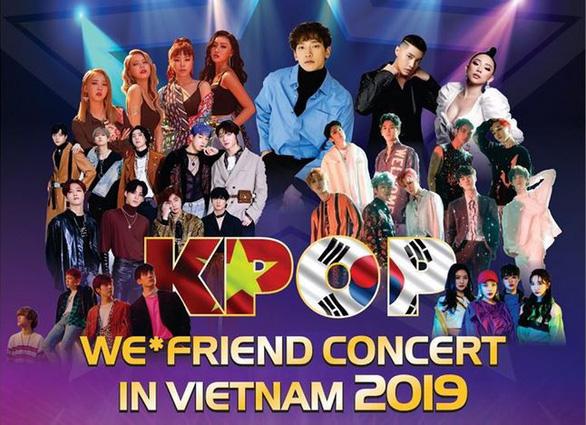 Những nghệ sĩ sẽ góp mặt trong đại nhạc hội.