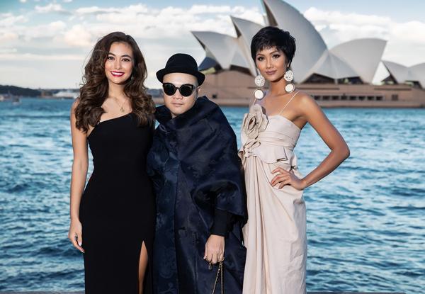 Ngoài ra, show diễn còn có sự góp mặt của Hoa hậu Hoàn vũ Úc 2018 Francesca Hung. Cô vui mừng khi hội ngộ với H'Hen Niê tại show diễn của NTK Đỗ Mạnh Cường. Người đẹp dành nhiều lời khen cho Back to nature.