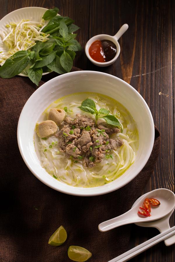 Phở Đi không phải là phở mang đi mà ý nghĩa của người Thái đối với từ Đi là ngon.