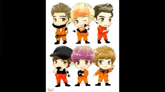 Fan cứng đoán nhóm nhạc Kpop qua hình chibi (5) - 1