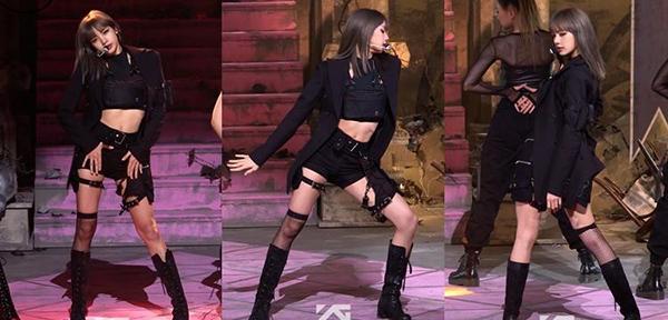 Fancam của Lisa cũng trở thành chủ đề gây sốt trong dịp đầu năm 2019. Em út của Black Pink được ca ngợi hết lời nhờ phong thái mạnh mẽ, sexy trên sân khấu. Fancam biểu diễn Kill This Love của Lisa đạt 4,9 triệu lượt xem.