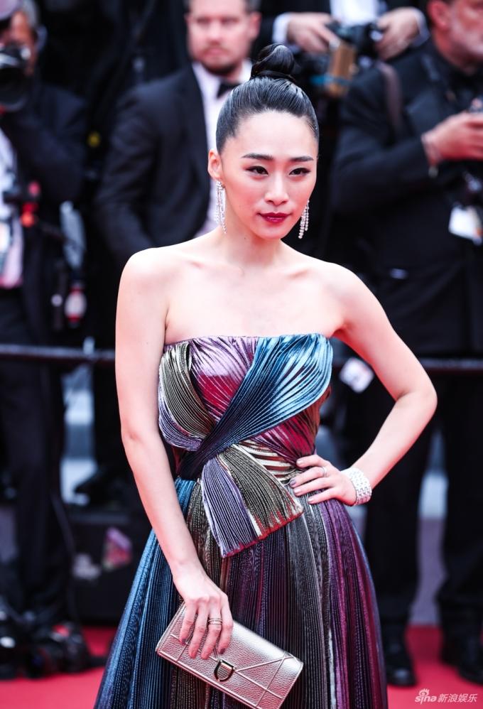<p> Nữ diễn viên Đài Loan Ngô Khả Hy.</p>
