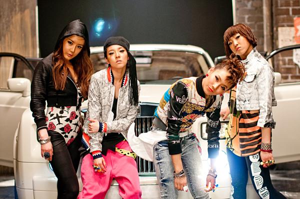 2NE1 chào sân Kpop ngày 17/5/2009 với single Fire.