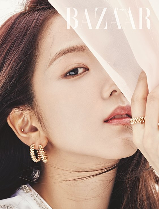 Ji Soo được gọi là Hoa hậu Hàn Quốc sau bộ ảnh trên Harpers Bazaar - 3