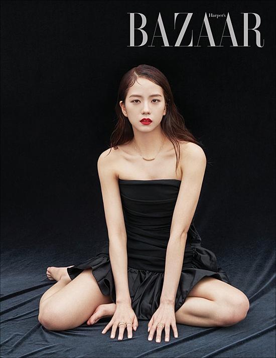 Ji Soo được gọi là Hoa hậu Hàn Quốc sau bộ ảnh trên Harpers Bazaar - 2