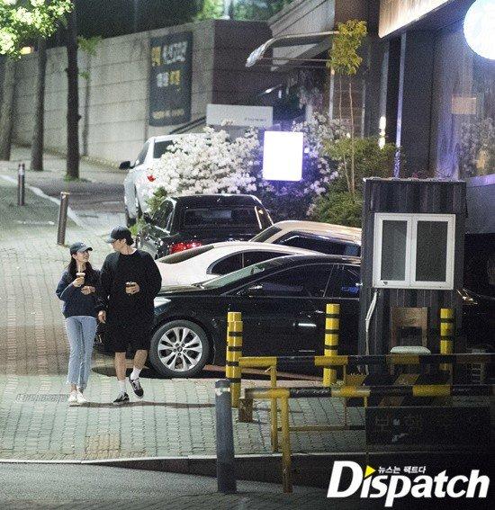 Ảnh hẹn hò của So Ji Sub và bạn gái sinh năm 1994.