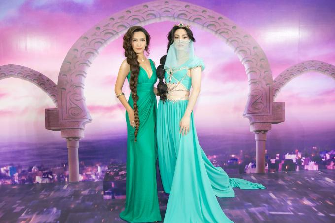 """<p> Nhìn Ái Phương, nhiều fan thốt lên """"công chúa thành Agrabah đây rồi"""".</p>"""