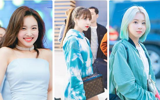 Nhiều thành viên Twice có mặt trong top 10.