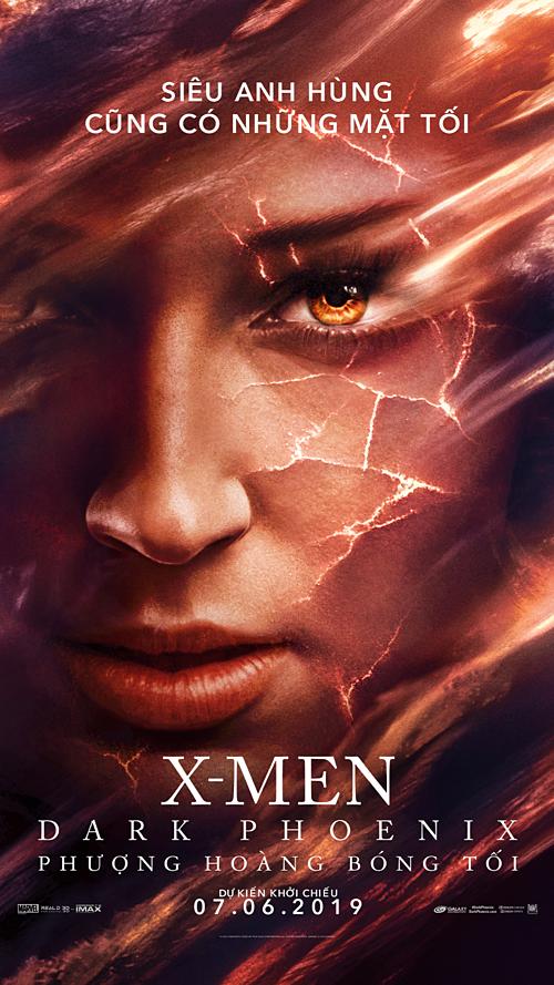 Jean Grey đóng vai trò quan trọng trong phần phim này.