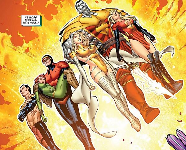 Hình ảnh Phoenix Five trong nguyên tác truyện tranh.