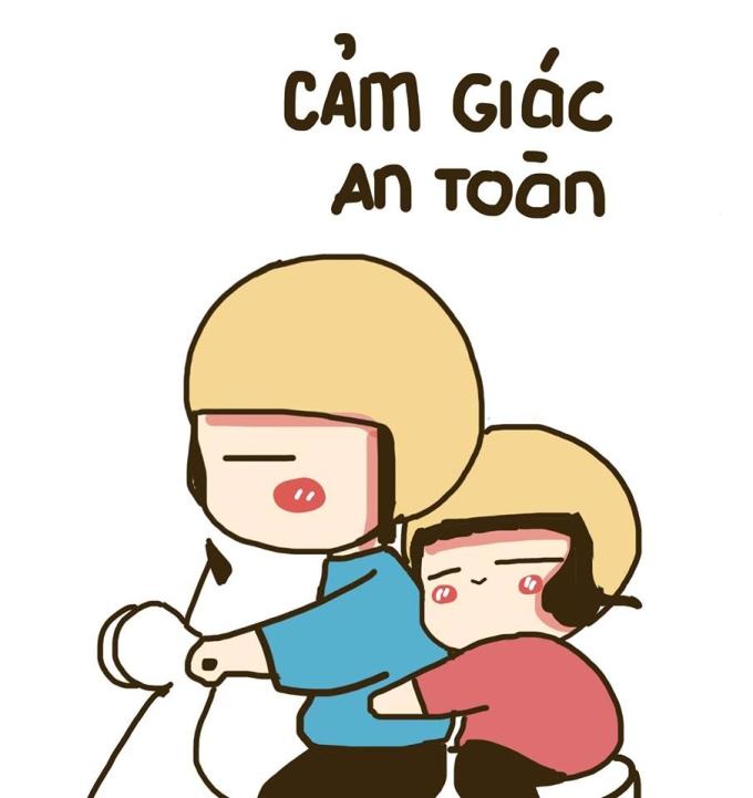 <p> Mỗi khi được anh người yêu chở đi, cảm giác an toàn khi bạn vòng tay ôm chặt chiếc bụng ngấn mỡ kia.</p>