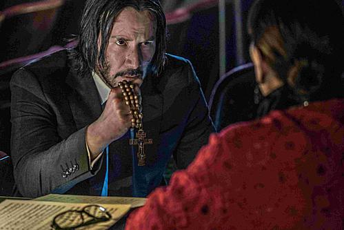 Tài tử Keanu Reeves vào vai John Wick.