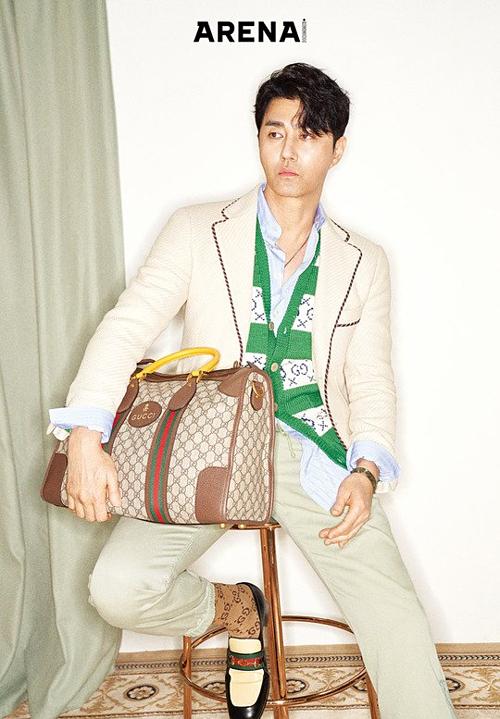Sao Hàn trên tạp chí thời trang - 6