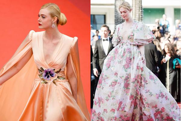 Hai bộ đầm đi thảm đỏ tuyệt đẹp của Elle Fanning ở LHP Cannes 2019.