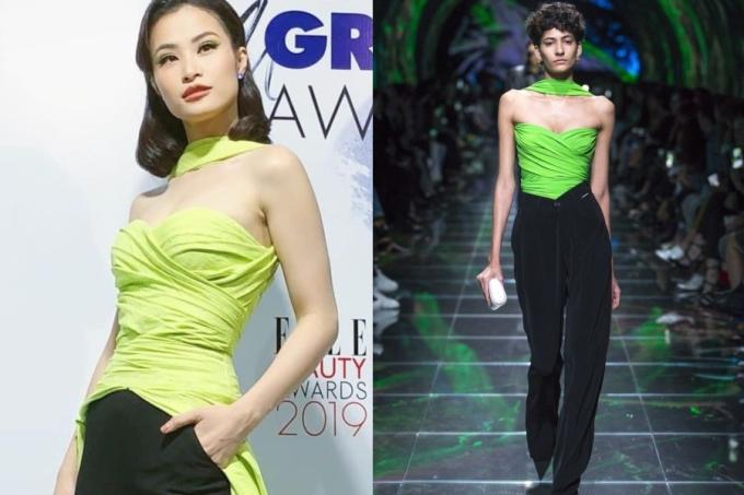 """<p> Gần đây, Lê Thanh Hòa cũng có sản phẩm """"kết hợp"""" giữa hai thiết kế của Balenciaga và Dior.</p>"""