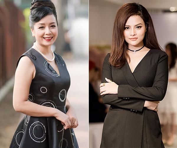 NSƯT Chiều Xuân - cựu siêu mẫu Vũ Thu Phương có quan điểm trái chiều về trang phục của Ngọc Trinh.