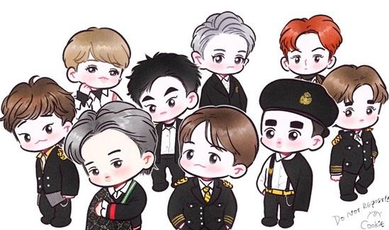 Fan cứng đoán nhóm nhạc Kpop qua hình chibi (6) - 2