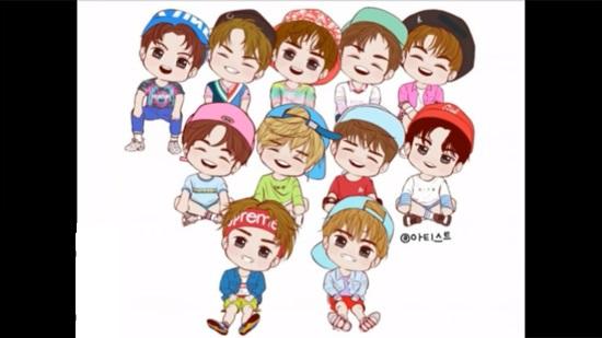 Fan cứng đoán nhóm nhạc Kpop qua hình chibi (6) - 3