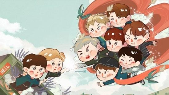 Fan cứng đoán nhóm nhạc Kpop qua hình chibi (6) - 7