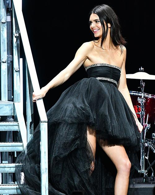 AmfAR là một trong các sự kiện bên lề lớn nhất tại LHP Cannes, được tổ chức thường niên nhằm mục đích gây quỹ từ thiện cho các bệnh nhân AIDS. Kendall Jenner góp mặt trong buổi tiệc thời trang từ thiện này năm nay với vai trò người mẫu trình diễn.