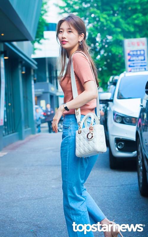 Mặt mộc không tì vết của Suzy khiến netizen trầm trồ